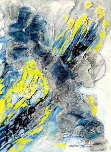 abstrakte Kunst, moderne Kunst, Ölgemälde, ungegenständlich